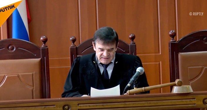 Nadiezda Suddenok w sądzie