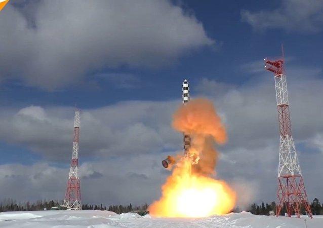 Ciężka rakieta  międzykontynentalna Sarmat