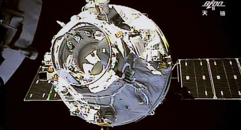 """Chińska stacja kosmiczna """"Tiangong-1"""""""
