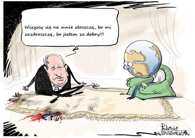 Izraelski premier nie lubi krytyki