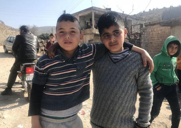 Dzieci z Afrinu