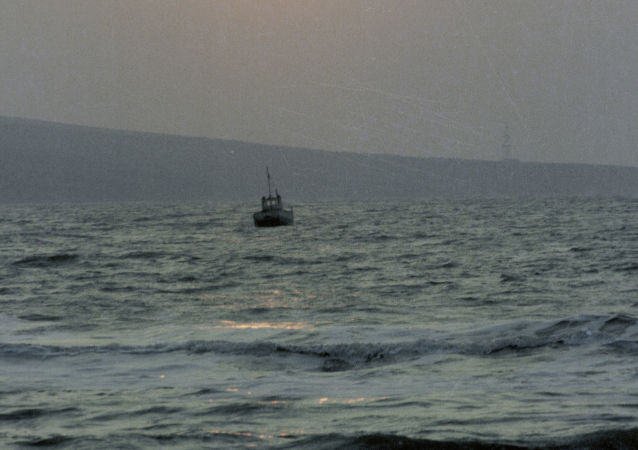 Statek na Morzu Azowskim