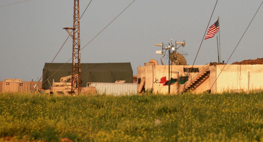 Amerykańska baza wojskowa w Syrii