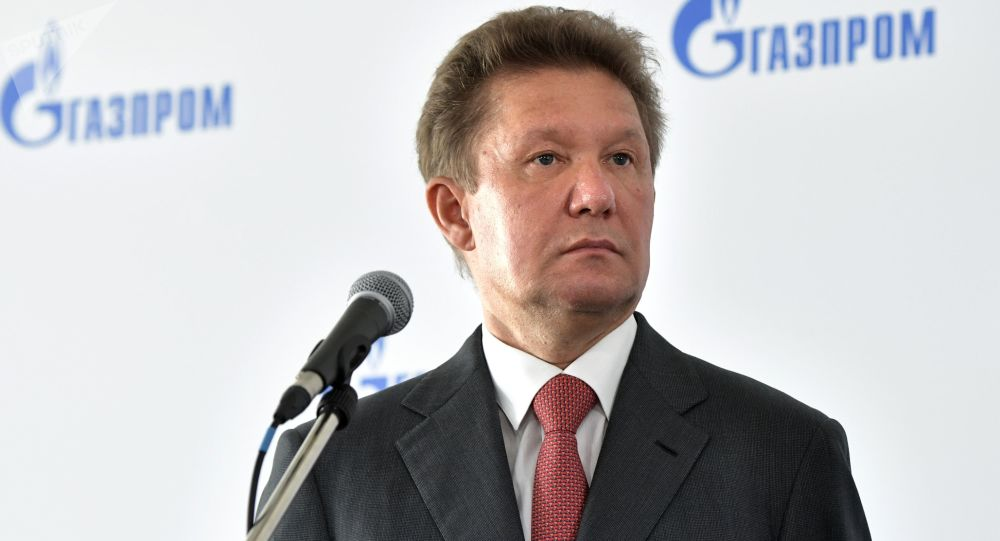 Prezes zarządu Gazpromu Aleksiej Miller