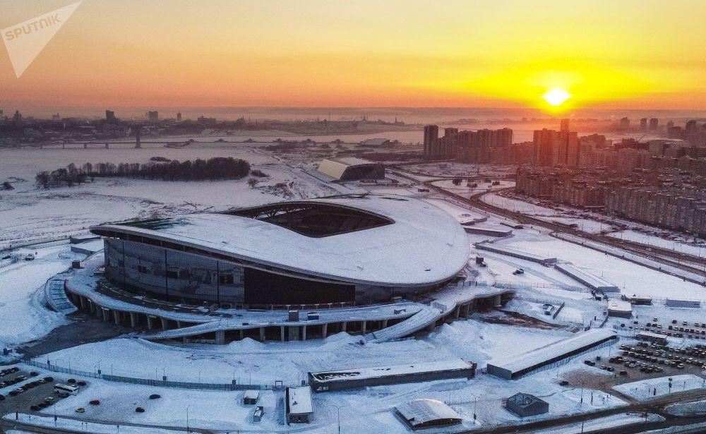 "Stadion ""Kazań Arena"" w Kazaniu"