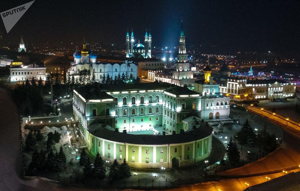 Widok na Kreml Kazański