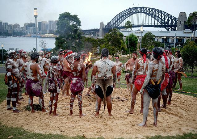 Aborygeńscy performerzy, Sydney