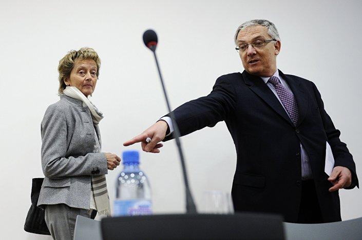 Prezes Szwajcarskiego Klubu Prasowego Guy Mettan