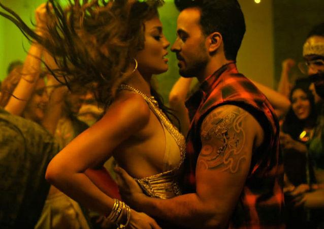 """Kadr z teledysku Luisa Fonsi do piosenki """"Despacito"""""""