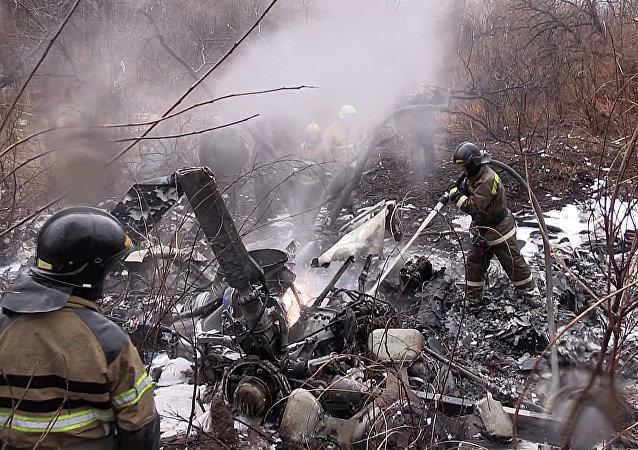 Katastrofa śmigłowca Mi-8 w Kraju Chabarowskim