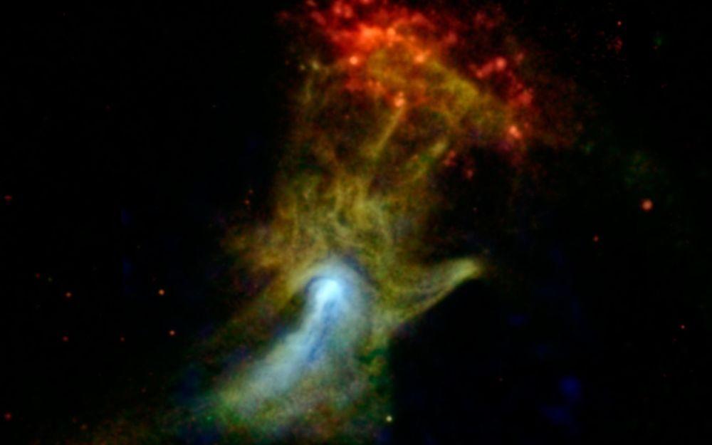 Plerion - mgławica pulsarowa