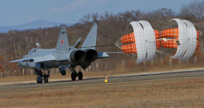 Hipersoniczny myśliwiec przechwytujących o dalekim zasięgu działania MiG-31