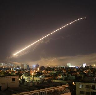 Nocne uderzenie na Syrię