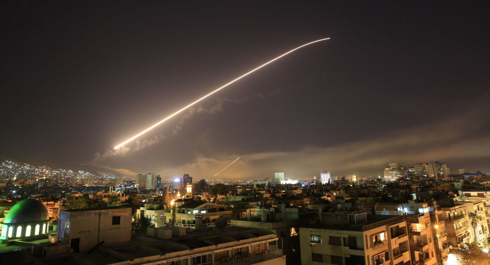 Nocne uderzenie USA na Syrię