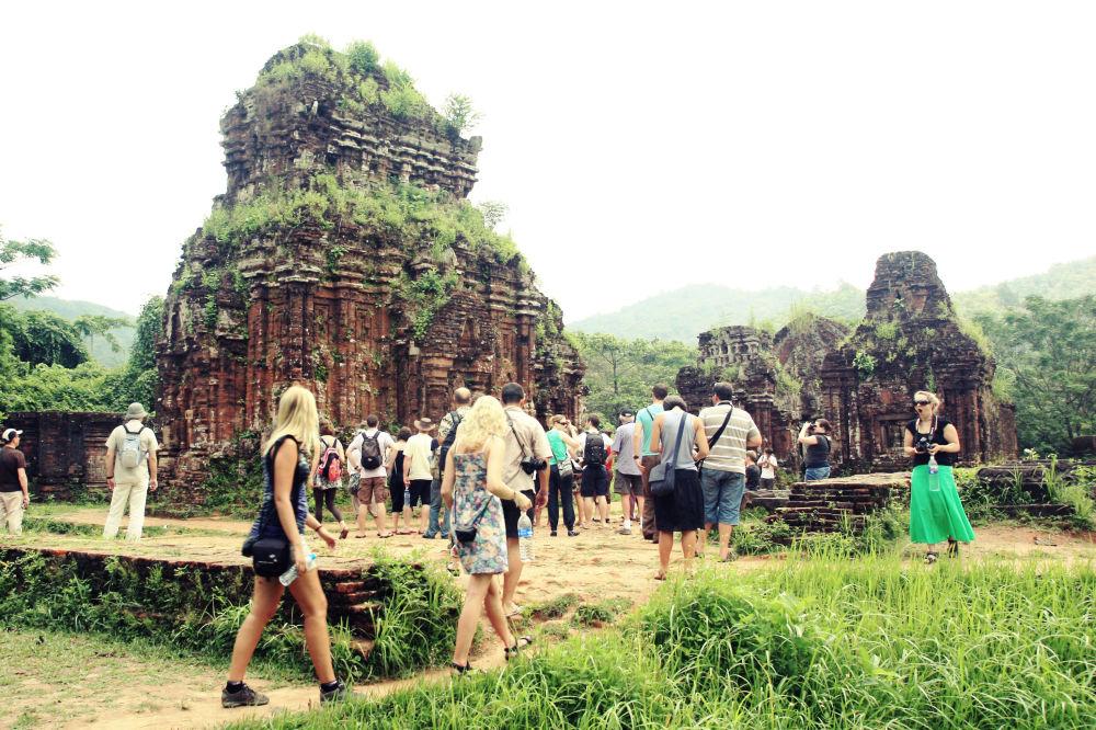 Kompleks hinduskich świątyń w Wietnamie