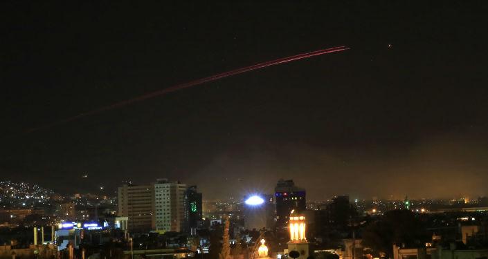 Nocne ataki USA, Francji i Wielkiej Brytanii na Damaszek, Syria