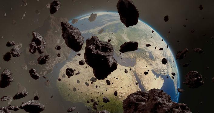 Lecące w kierunku Ziemi asteroidy