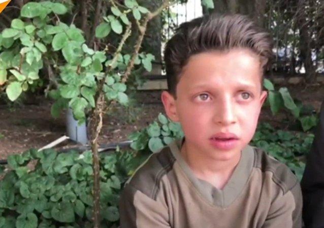 Syryjski chłopak