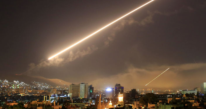 Amerykański atak rakietowy na Damaszek, Syria