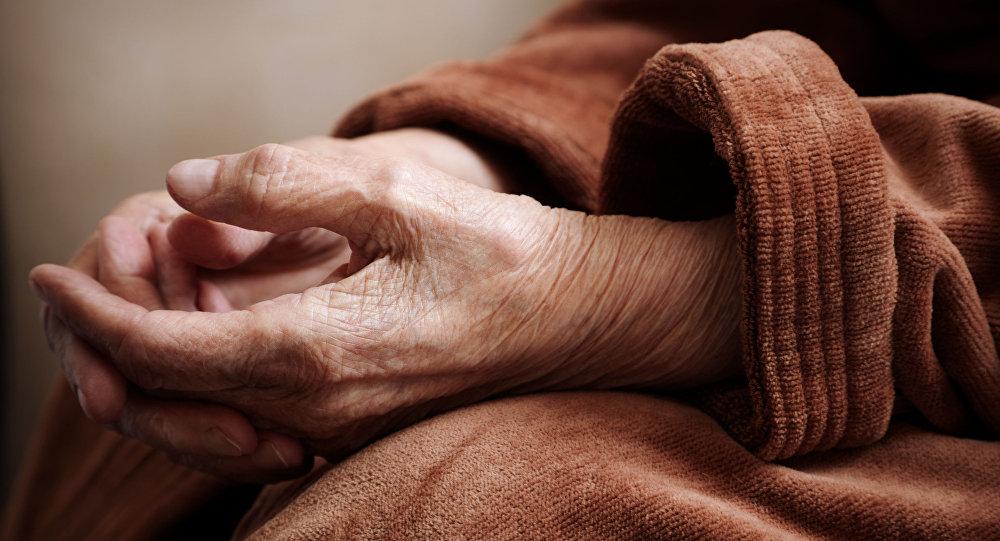 Ręce starego człowieka