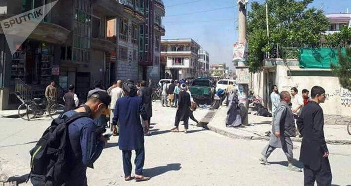 Samobójczy zamach w Kabulu