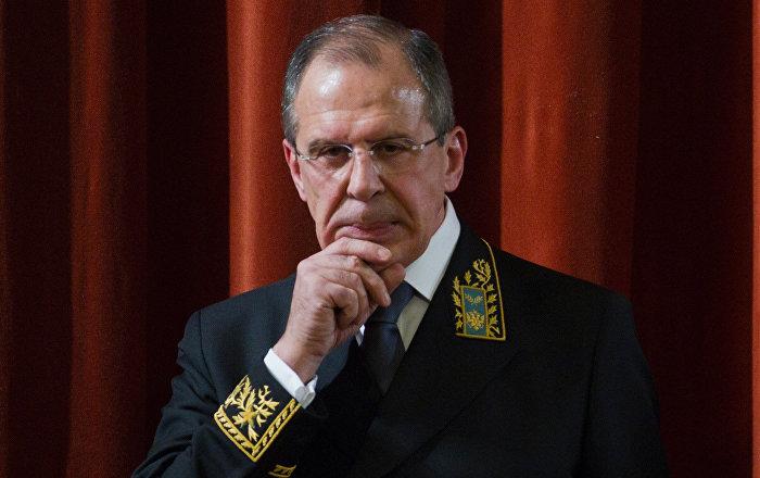 Minitser spraw zagranicznych Siergiej Ławrow