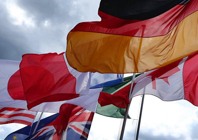 Flagi państw G7