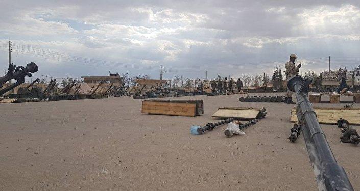 Arsenał terrorystów w rękach syryjskiej armii