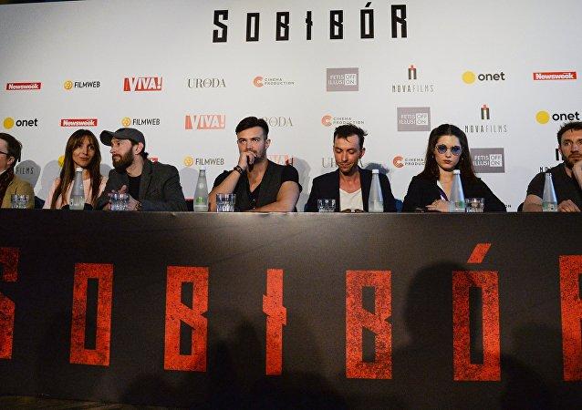 Światowa premiera filmu Sobibór w Warszawie