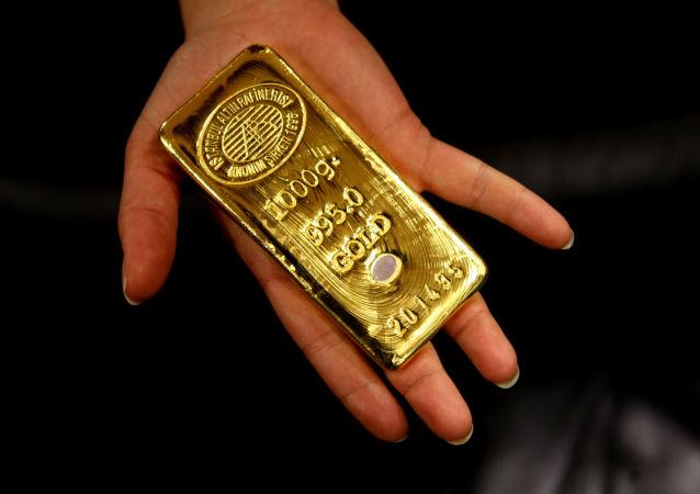 Turecka sztabka złota
