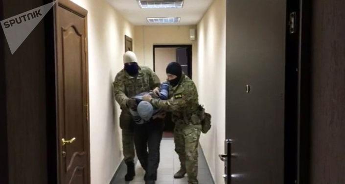 FSB Rosji podczas zatrzymania podejrzanego o porganizację zamachów