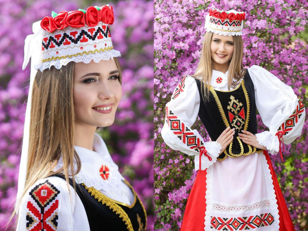Uczestniczka konkursu piękności Królowa wiosna Białorusi Maria Sołowjowa