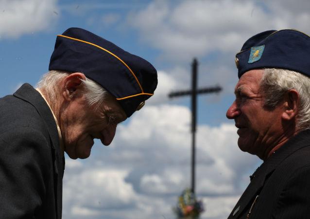 Byli żołnierze dywizji SS-Galizien