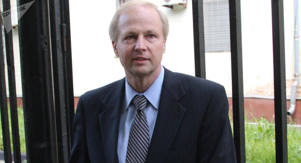 Prezydent rosyjsko-brytyjskiej spółki naftowej TNK-BP Robert Dudley