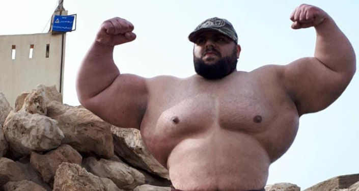 """27-letni Sajad Garibi, zwany """"irańskim Hulkiem"""""""