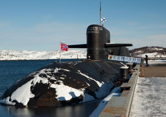 """Atomowy okręt podwodny """"Karelia"""""""