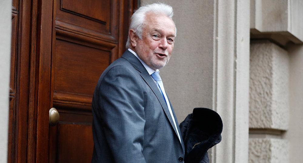 Wiceprezydent Bundestagu i wiceprzewodniczący Wolnej Partii Demokratycznej Niemiec (FDP) Wolfgang Kubicki