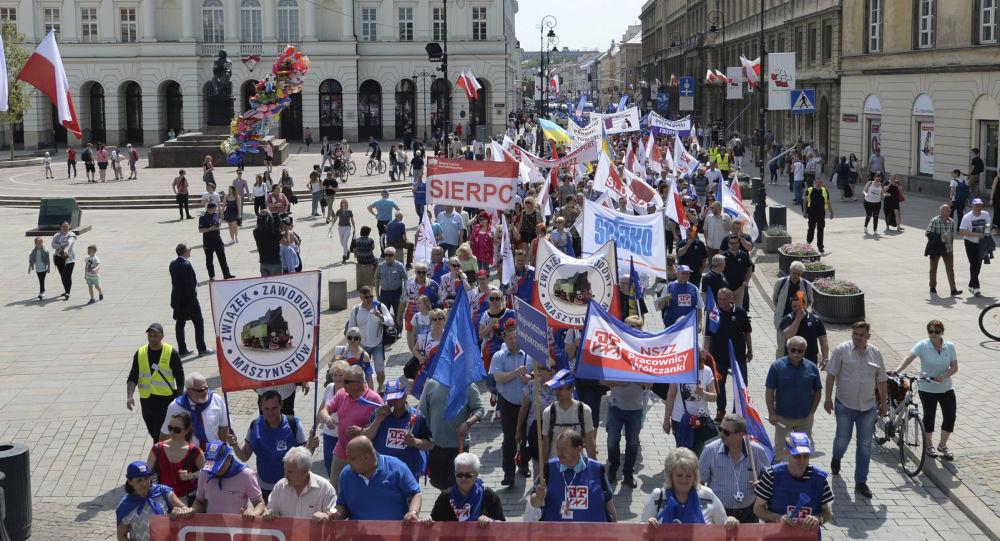 Obchody 1 maja w Warszawie