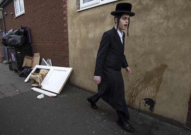 Dzielnica Stamford Hill na północy Londynu