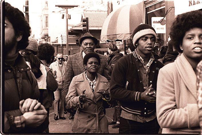"""Sekta """"Świątynia Ludu"""", San Francisco, 1977"""