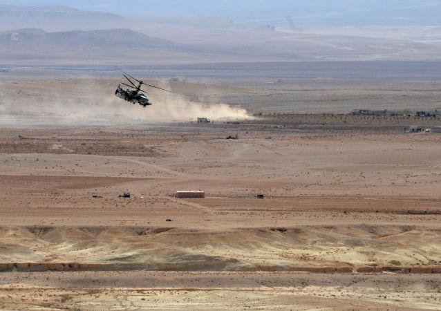 Śmigłowiec Ka-52 Aligator w Syrii