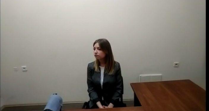 """Dziennikarka stacji telewizyjnej """"Rosja"""" Walentyna Sołowjowa"""