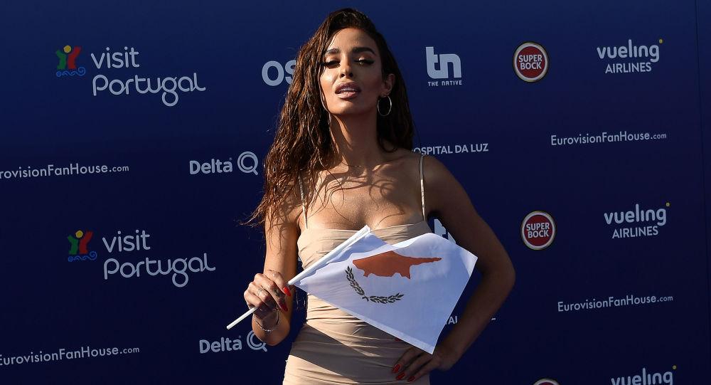 Uczestniczka Eurowizji z Cypru Eleni Foureira