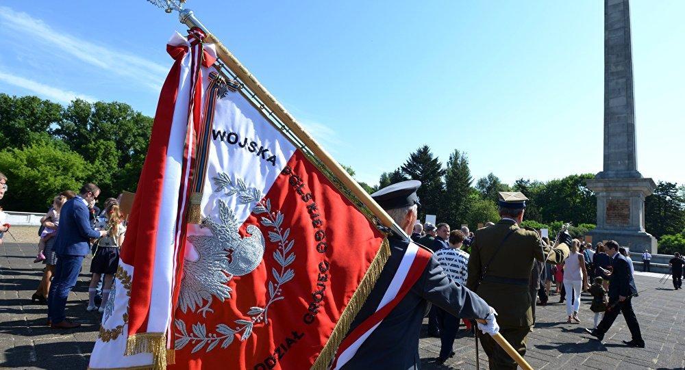 Nieśmiertelny Pułk w Warszawie