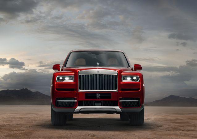 Pierwszy w historii marki samochód terenowy Rolls-Royce Cullinan