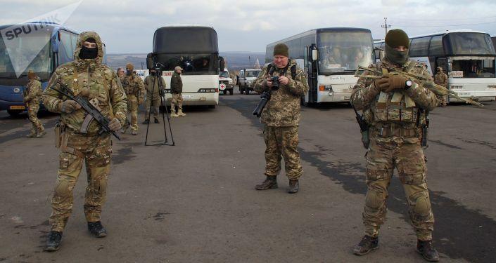 Ukraińscy żołnierze