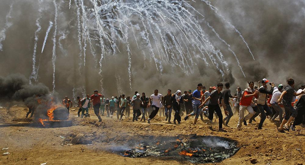 Strefa Gazy Picture: Starcia W Strefie Gazy: Zginęło Już 59 Palestyńczyków