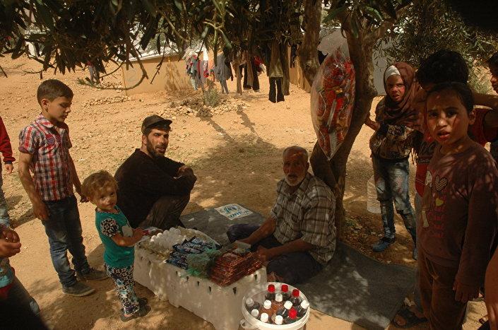 Jak zarabiają na życie Syryjczycy w obozach dla uchodźców
