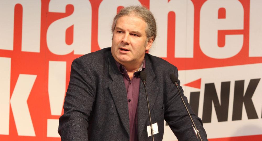Deputowany do Bundestagu z ramienia Lewicy Andriej Hunko
