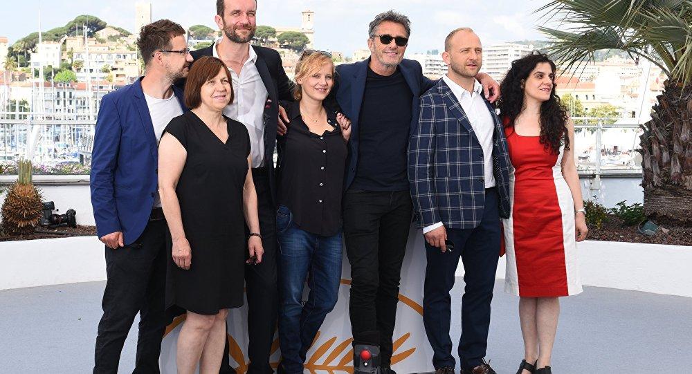 Ekipa filmowa Zimnej wojny na 71. Festiwalu w Cannes
